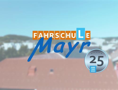 Fahrschule Mayr – 25 Jahre
